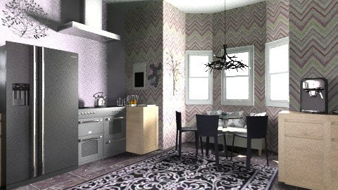 Kitchen - Vintage - Kitchen  - by Alyssa Walker