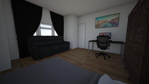 SergioGunz - Modern - Bedroom - by SerGunz