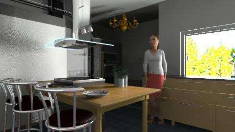 Angular Kitchen - Modern - Kitchen - by shabf
