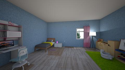 house - Kids room  - by valeria prihodko