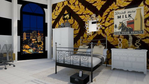 Glitz and Glam - Glamour - Bedroom  - by Puppy Chow