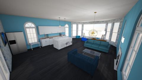 Jonas room - Living room  - by Mackthewhack