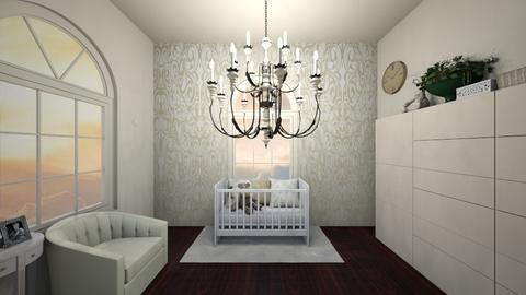 Cream Nursery - Modern - Kids room  - by AngelicT