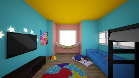 teddy bed - Kids room - by faesystem