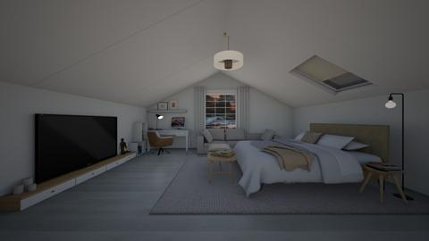 Attic Bed Outdoor - by rukayye