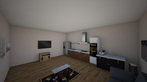 living room  - by whitnee