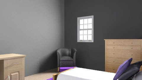 Taylor's Room - Glamour - Bedroom  - by sk8bry