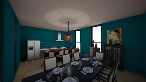 kitchen - by AdeleNur