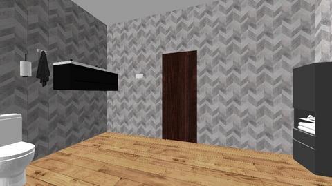 salle de bain - Bathroom  - by eve14
