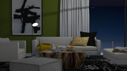 Pale and Green - Modern - Living room - by HenkRetro1960