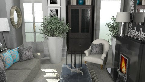 Petrol - Eclectic - Living room  - by du321