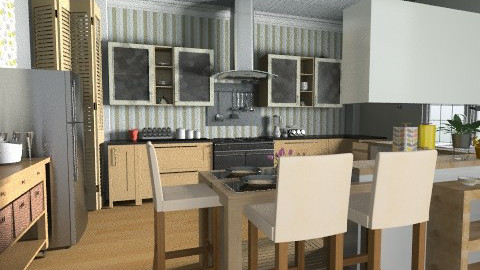 Kitchen 1 - Classic - Kitchen  - by VioletRosa