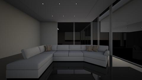 Luxury flat - Living room - by karolka0614
