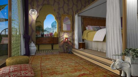 indiaB - Global - Bedroom  - by donella