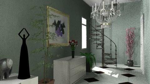 Corridor - Classic - Bedroom  - by sasalex88