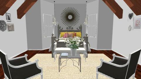 Kate's Room - Rustic - Bedroom  - by cmoevans