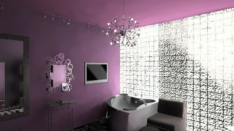 Woman Cave Bathroom - Glamour - Bathroom  - by Narcisse94