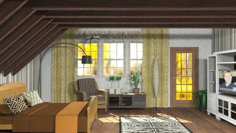 Guestroom - Eclectic - Bedroom - by Gidion