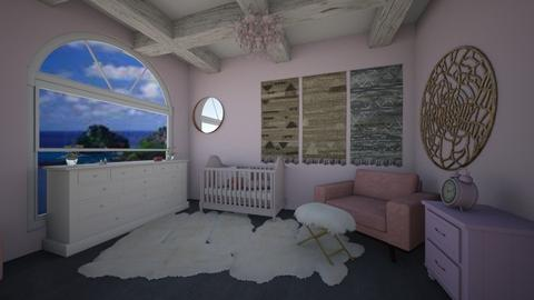Dream Nursery - Vintage - Kids room - by Joy Mk