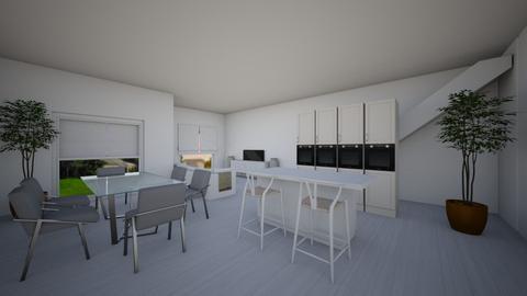 1st level_option1 - Modern - Living room  - by danny_design