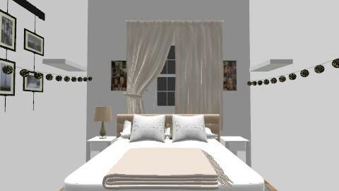 Bedroom white - Minimal - Bedroom - by thatguynatehall