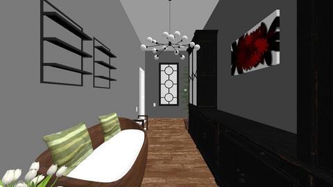 mudroom - Living room  - by ellexalamolinra