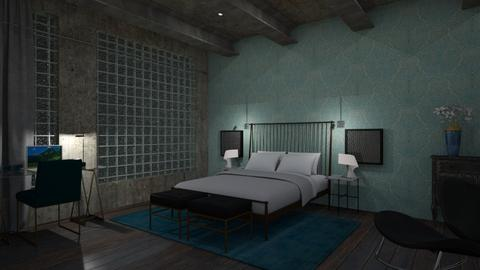 Bedroom - Minimal - by Annathea