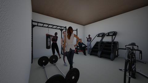 gym - by Myroomslivey