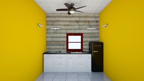 Kitchen Interior - Classic - Kitchen  - by syedmalik786