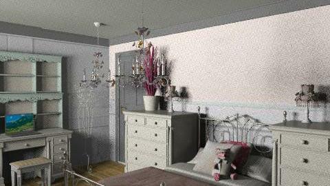 afd - Rustic - Bedroom  - by lovebug22