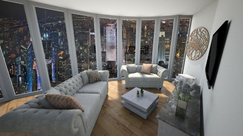 New York - Living room - by rachel_voke