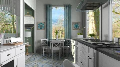 Megan - Modern - Kitchen  - by milyca8