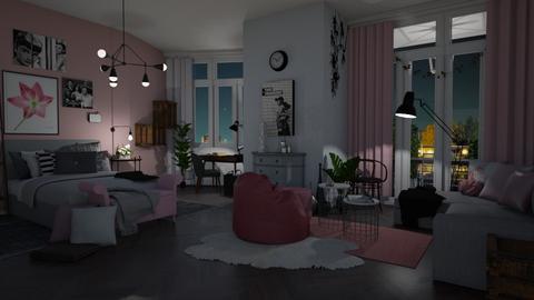 Rose Dreams - Bedroom  - by Eleonor Debus