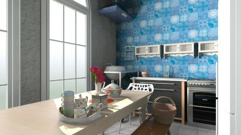 dining kitchen Victoria - Eclectic - Kitchen - by Jek Pulido
