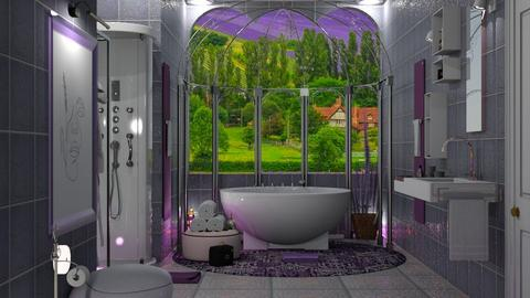 lavander bath - by nat mi
