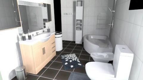 My new bathroom - Bathroom  - by Design_freak