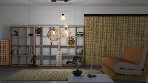 futon - Bedroom  - by nat mi