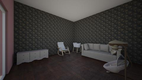 Camiel Madera Project 3 - Kids room  - by maderacamiel
