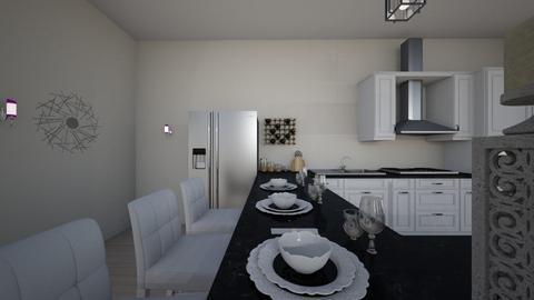 house k9 - Kitchen  - by nikolinajadanic