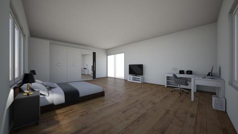 dr vinnie - Modern - Bedroom  - by _JakePeralta