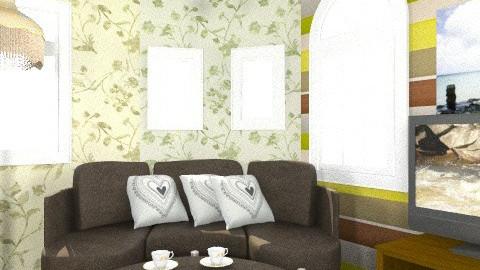 livingretro6 - Retro - Living room  - by reyfa farah nurwahidah