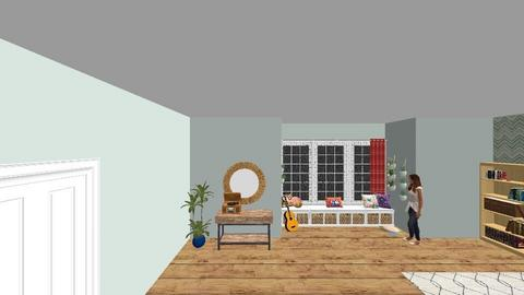 Bohemian Bedroom - Bedroom - by trishk82