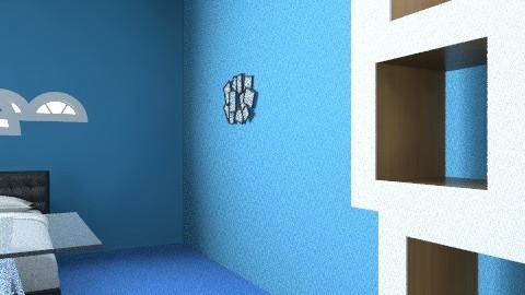 bed room - Retro - Bedroom  - by Frank Dal Santo