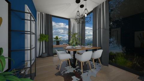 dining room 2 - Dining room - by elvievandenbroek