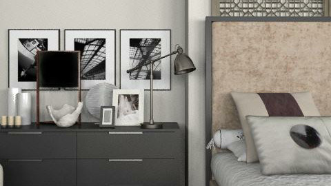 Modern Flair - Classic - Bedroom  - by laurawoodley