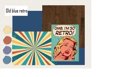 Concept Old blue retro  - by evantoor