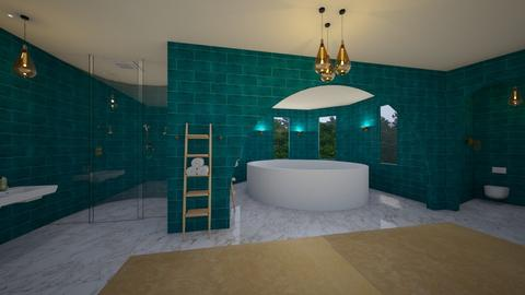 Turquoise - Bathroom  - by Phospective