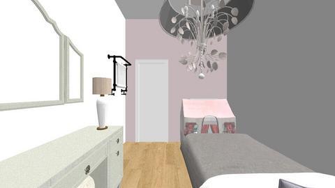 my room - Feminine - Bedroom - by esmenette145