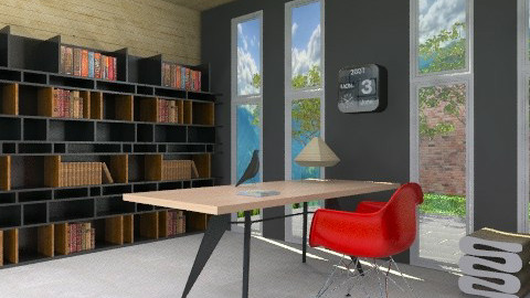 Office MCM - Modern - Office  - by 3rdfloor