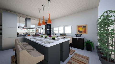 eclectic kitchen 2 - Kitchen - by Lizagie